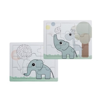 Puzzle, Elphee and Raffi, 2 pcs