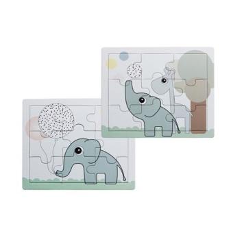 Puzzle, Elphee and Raffi, 2 pcs