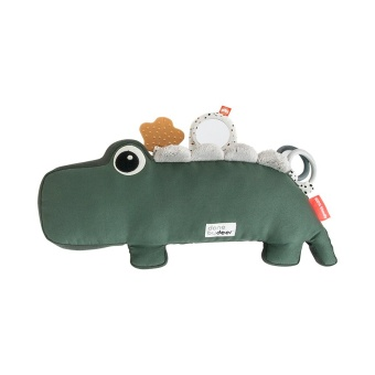 Tummy time activity toy, Croco, green
