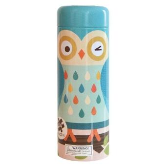 Ekologiskt nybörjarpussel och sparbössa - Owl Family