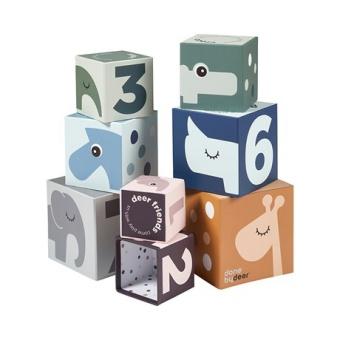 Stacking cubes, Deer friends