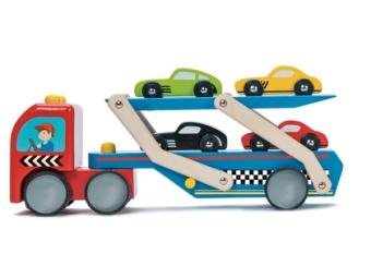 Lastbil biltransport