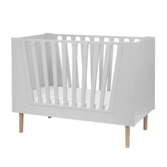 Baby cot, 60 x 120 cm, grey Endast hämtning i butik