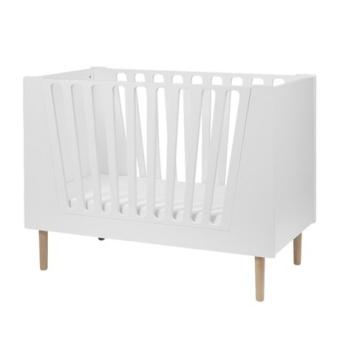 Baby cot, 60 x 120 cm, white Endast hämtning i butik
