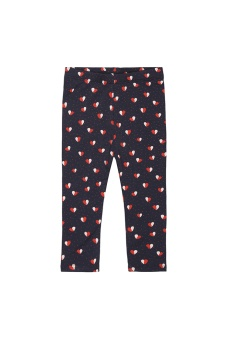 Baby Leggings Heartfly, Navy