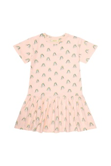 Doris Dress Pale Dogwood
