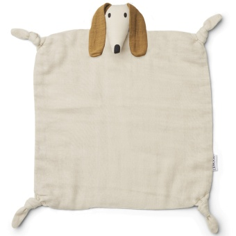Agnete cuddle cloth Dog sandy