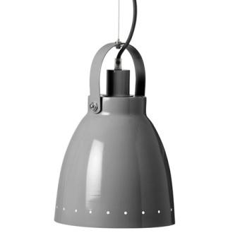 Metall Lampa Grå
