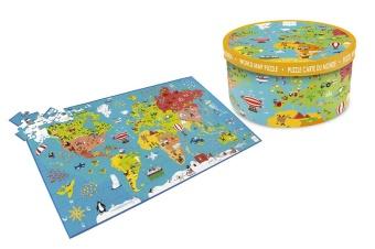 Pussel Världskarta