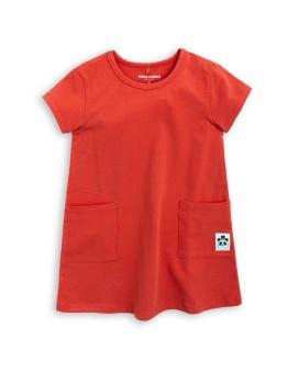 BASIC DRESS red