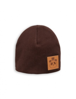PANDA HAT brown
