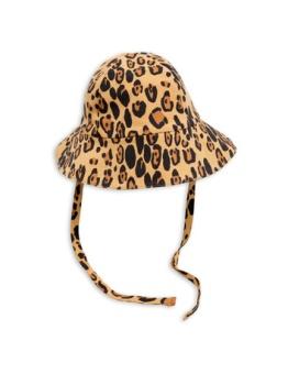 Basic leopard sunhat Beige