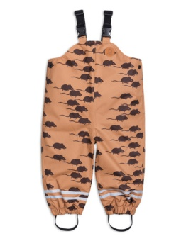 Edelweiss mouse high trousers brown
