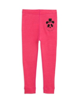 Panda sp wool leggings Cerise