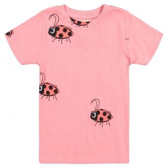 T Shirt - Pink Ladybug