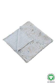 Blanket Mini Splash Blue