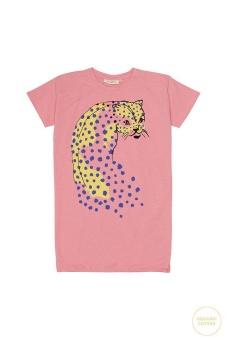 Yoko Dress Pink Icing Dot