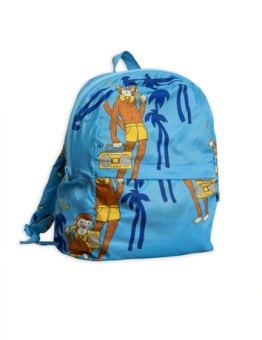 Cool Monkey Backpack Light blue
