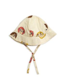 Monkey sun hat offwhite