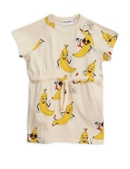 Banana aop dress