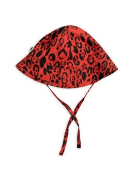 Leopard Sun hat Limited	/ Red
