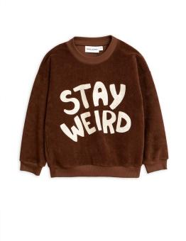 Stay Weird sp terry sweatshirt