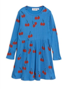 Cherry ls dress