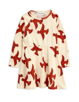 Flying birds ls dress