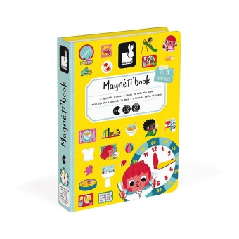 Learn to Tell The Time Magneti'book