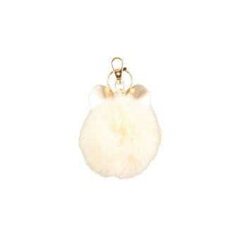 Pom Pom Mouse Pearled Ivory