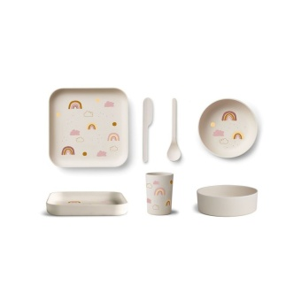 Aiko Bamboo set rainbow