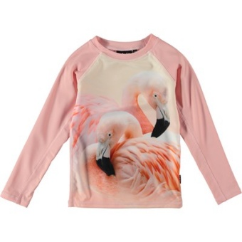Neptune Ls Badtröja Flamingo Dream