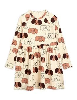 Fluffy Dog AOP Dress