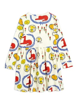 Sighthound AOP LS Dress