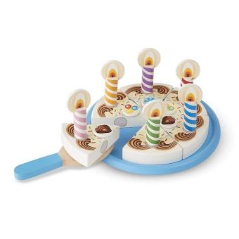 Birthday Cake Mix-n-Match pålägg och 7 ljus
