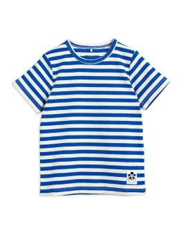 Stripe rib ss tee Blue - Chapter 2