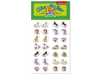 Öron-stickers Hästar