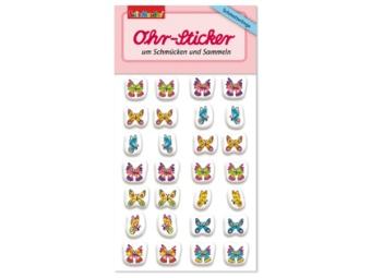 Öron-stickers Fjärilar