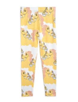 Unicorn noodles aop leggings Yellow -  Chapter 3