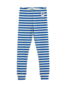 Stripe rib leggings Blue - Chapter 2