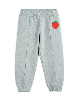 Strawberry emb sweatpants Grey Melange - Chapter 1