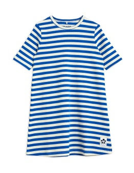 Stripe rib ss dress Blue - Chapter 2