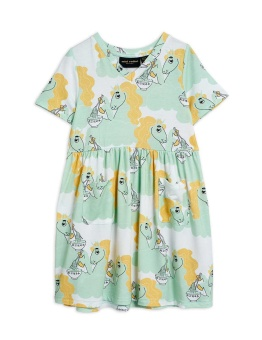 Unicorn noodles aop ss dress Green - Chapter 3