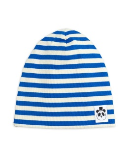 Stripe rib beanie Blue - Chapter 2