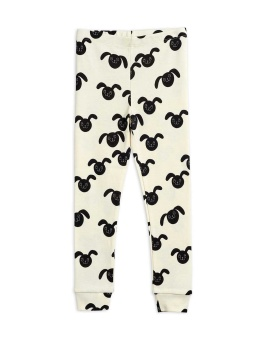 Rabbits aop leggings Black - Chapter 2