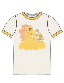 Unicorn noodles sp ss tee Yellow - Chapter 3