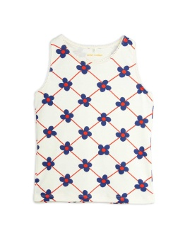 Flower check aop tank OFFWHITE