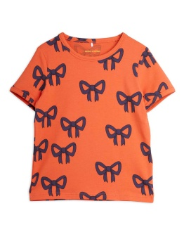 Bow aop ss tee RED