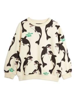 Orca aop sweatshirt OFFWHITE