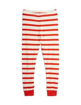 Stripe leggings RED